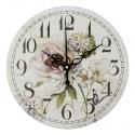 """Sieninis laikrodis """"Prancūziškos šviesios gėlės"""""""