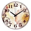 """Sieninis laikrodis """"Žiedų romantika 2"""""""
