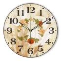 """Sieninis laikrodis """"Nuostabus gėlių ratas 3"""""""
