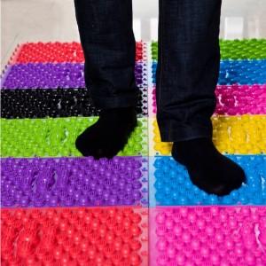 """Akupresūrinis pėdų kilimėlis """"Didelis progresas 11"""" (27 x 11 cm)"""