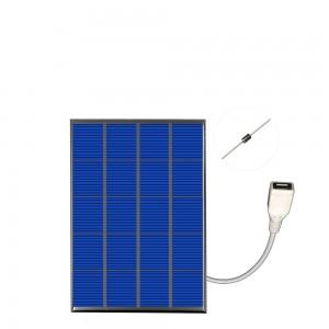"""Saulės modulis """"Solar Power USB"""" (5 V 400 mA 2 W)"""