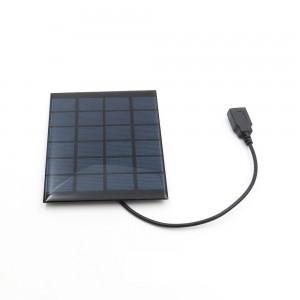 """Saulės modulis """"Solar Power USB"""" (6 V 333 mA 2 W)"""
