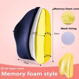 "Ortopedinė pagalvė nugarai ""Memory Foam Standart"""