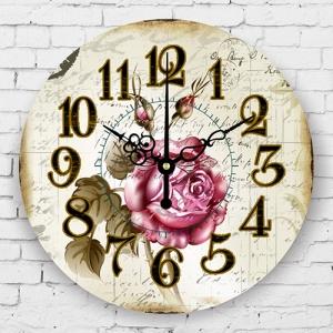 """Sieninis laikrodis """"Prašmatni rožė 2"""""""
