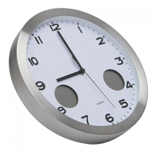 """Sieninis lauko laikrodis """"Tobulumas"""" (su temmperatūros matavimu, tylus)"""