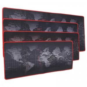 """Super didelio dydžio pelės kilimėlis """"Pasaulio žemėlapis"""" (80 x 30 cm)"""