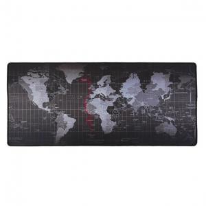 """Super didelio dydžio pelės kilimėlis """"Pasaulio žemėlapis"""" (70 x 30 cm)"""
