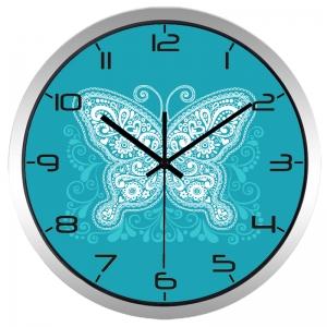 """Sieninis laikrodis """"Modernus drugelis"""""""