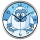 """Sieninis lauko laikrodis """"Sniego pabaisiukas"""""""