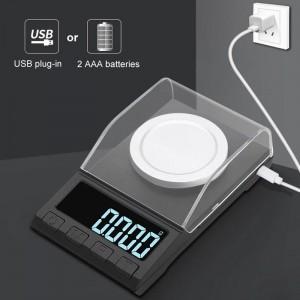 """Profesionalios skaitmeninės juvelyrikos gaminių svarstyklės """"Deluxe Pro"""" (iki 20 gr. tikslumas 0,001 g.)"""