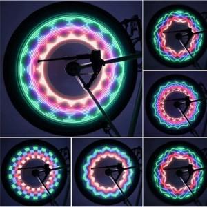 """32 LED dviračio ratų lempos """"Nuostabios nakties spalvos"""""""