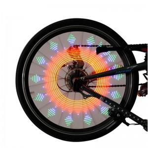 """16 LED dviračio rato lempa """"Nuostabios nakties spalvos"""""""