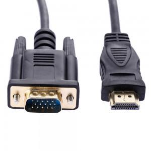 HDMI į VGA Kabelis