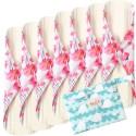 """Daugkartinio naudojimo higieniniai įklotai """"Bella Premium White 5"""" (7 vnt.)"""