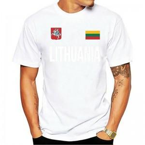 """Vyriški medvilniniai marškinėliai """"Lietuva"""""""
