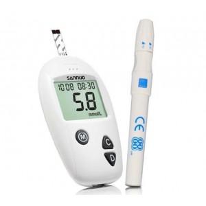 Cukraus ir gliukozes kiekio kraujyje matuoklis