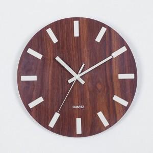 """Sieninis laikrodis """"Tebūnie šviesa 8"""" (30 cm)"""