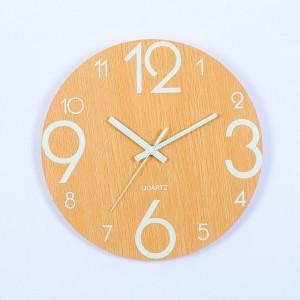 """Sieninis laikrodis """"Tebūnie šviesa 9"""" (30 cm)"""