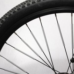 """Atšvaitai dviračio stipinams """"Bus šviesiau"""" (12 vnt.)"""