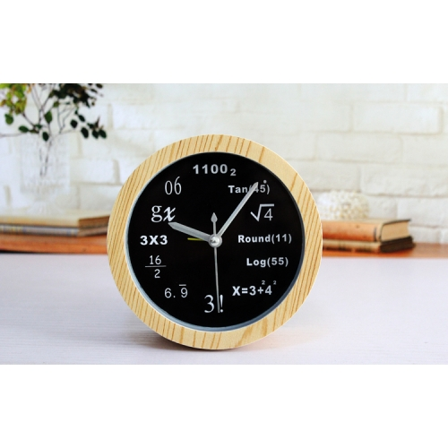 """Laikrodis žadintuvas """"Matematika"""" (12 cm)"""