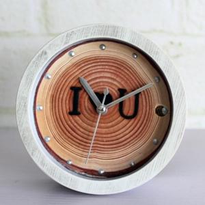 """Laikrodis žadintuvas """"Medžio ženklai"""" (12 cm)"""