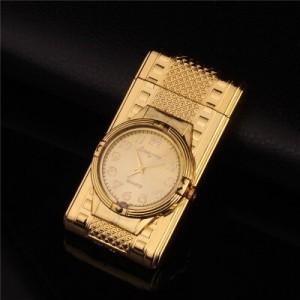 """Laikrodis žiebtuvėlis """"Auksinis žiebtuvėlis 3"""" (atsparus vėjui)"""