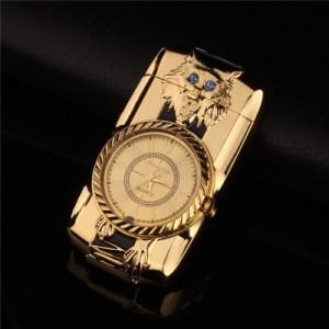 """Laikrodis žiebtuvėlis """"Auksinis žiebtuvėlis 4"""" (atsparus vėjui)"""