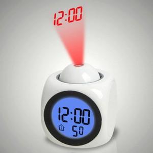 """Projekcinis laikrodis žadintuvas """"Lazeriniai skaičiai"""""""