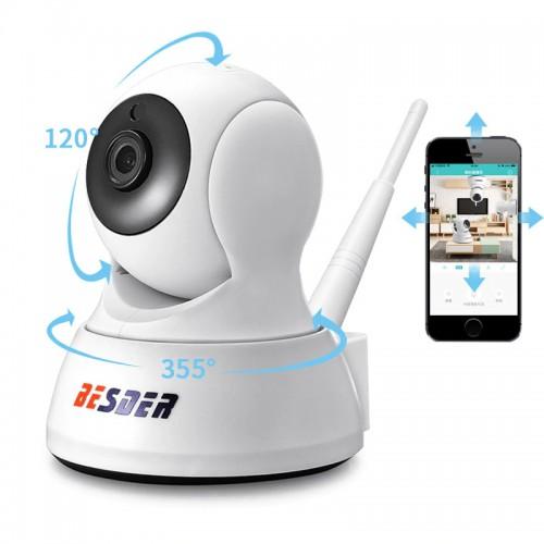 """Stebėjimo IP kamera """"Budrusis sekimas"""" (720P, Wifi, Wireless, naktinio matymo)"""