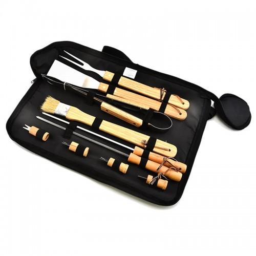 """Plieninių įrankių rinkinys griliui """"Soul Kitchen"""""""