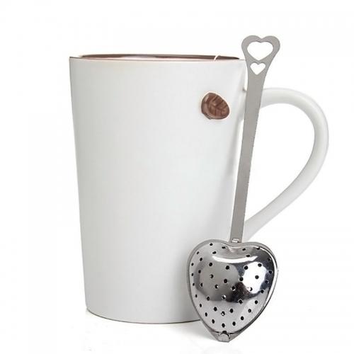 """Plieninis arbatos sietelis """"Širdelė 2"""""""