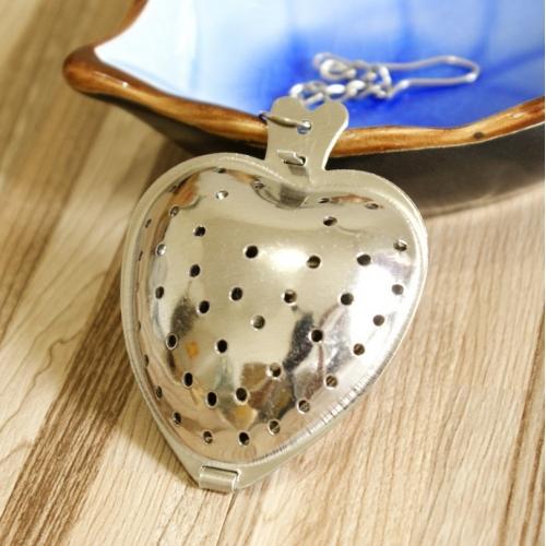 """Plieninis arbatos sietelis """"Širdelė 3"""""""