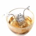 """Plieninis arbatos sietelis """"Robotukas"""""""
