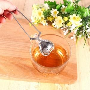 """Plieninis arbatos sietelis """"Meilės širdelė 2"""""""