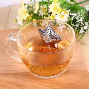 """Plieninis arbatos sietelis """"Žvaigždelė"""""""
