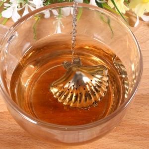 """Plieninis arbatos sietelis """"Kriauklytė"""""""