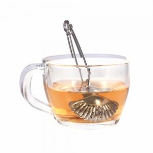 """Plieninis arbatos sietelis """"Kriauklytė 2"""""""
