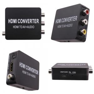 HDMI į RCA + audio keitiklis (1080P, HDMI 1.4)