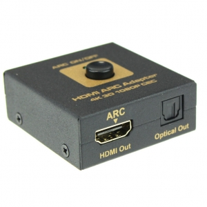 HDMI į HDMI ir optinį signalą keitiklis (4k 3D 1080P)