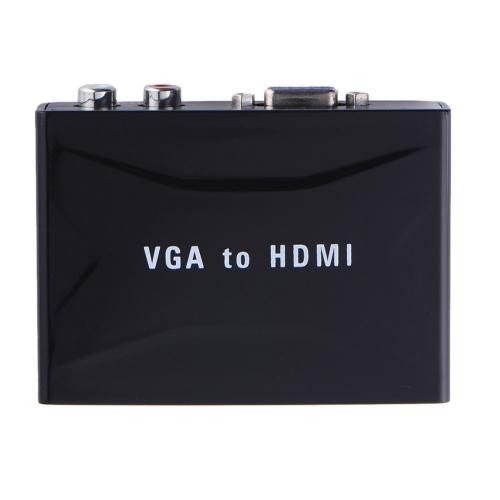 VGA + audio į HDMI signalą keitiklis (720P)