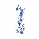 """Lipdukas """"Nuostabi mėlynoji gėlė"""" (24 x 80 cm)"""