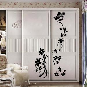 """Lipdukas """"Nuostabi gėlė ir drugelis"""" (84 x 55 cm)"""