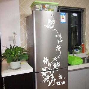"""Lipdukas """"Nuostabi gėlė ir drugelis 2"""" (84 x 55 cm)"""