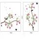 """Lipdukas """"Nuostabi gėlė ir paukšteliai"""" (150 x 100 cm)"""