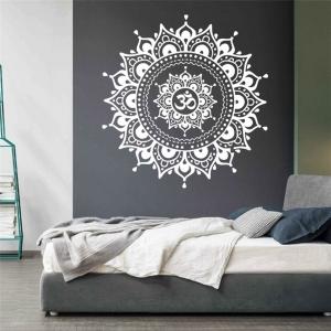 "Lipdukas ""Baltoji mandala"" (57 x 57 cm)"