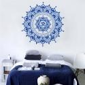 """Lipdukas """"Mėlynoji mandala"""" (57 x 57 cm)"""