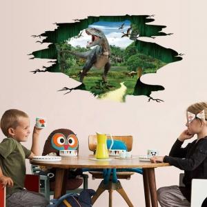 """3D lipdukas """"Dinozaurų slėnis"""" (60 x 90 cm)"""