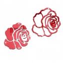 """Veidrodinis lipdukas """"2 raudonos rožės"""" (28 x 28 cm)"""