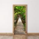 """3D lipdukas """"Bezdžionių tiltas"""" (77 x 200 cm)"""