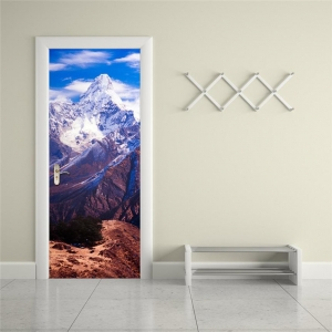 """3D lipdukas """"Nuostabus kalnų grožis"""" (77 x 200 cm)"""